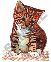 KITTEN embroidery design