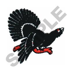 BIRD ON LIMB embroidery design