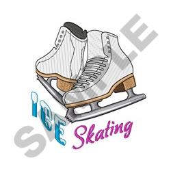 Ice Skating embroidery design