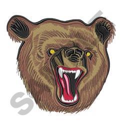 Bears Head embroidery design