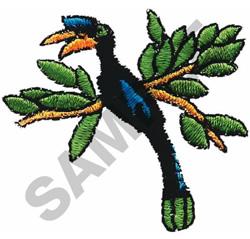 HORNBILL embroidery design