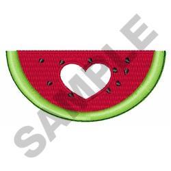 Love Watermelon embroidery design
