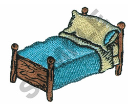 BED embroidery design