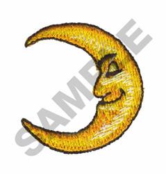 HALF MOON embroidery design