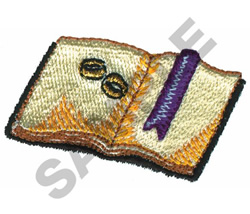 WEDDING RINGS IN BIBLE embroidery design