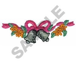 WEDDING BELLS BORDER embroidery design