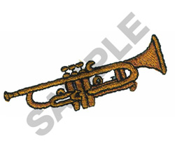 TRUMPET embroidery design