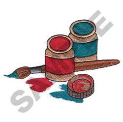 CRAFT PAINT embroidery design