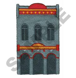 BANK embroidery design