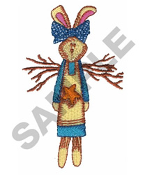 RABBIT DOLL embroidery design
