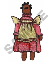 DOLL embroidery design