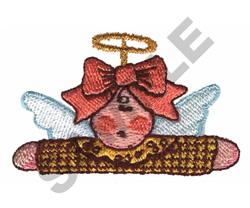 ANGEL DOLL POCKET TOPPER embroidery design