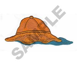 RAIN HAT embroidery design