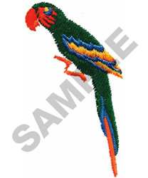 SMALL PARROT #549 embroidery design