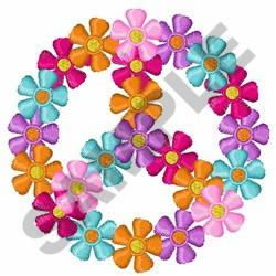 FLORAL PEACE embroidery design