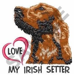 Irish Setter Embroidery Designs