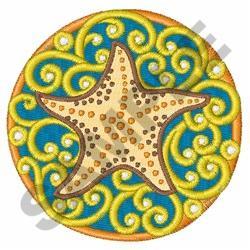 STARFISH BEAUTY embroidery design