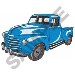 CLASSIC TRUCK MD embroidery design