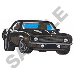 CLASSIC CAR MD embroidery design