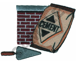 CEMENT LOGO embroidery design