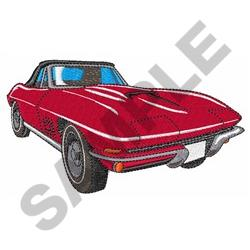 CLASSIC CAR SMALL embroidery design