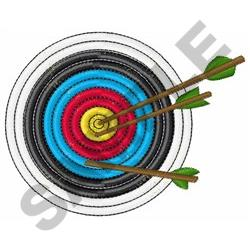ARCHERY TARGET Embroidery Designs Machine Embroidery
