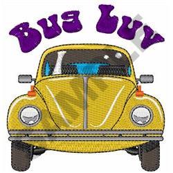 BUG LUV embroidery design