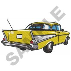 CLASSIC CAR LARGE embroidery design