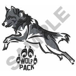 WOLF PACK embroidery design