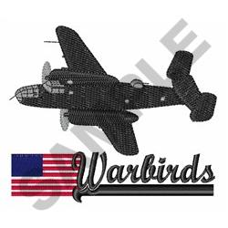 AMERICAN WARBIRDS embroidery design