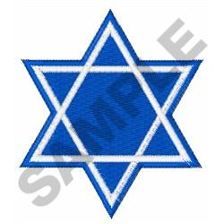 Free Star Of David Embroidery Design