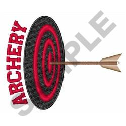 TARGET ARCHERY Embroidery Designs Machine Embroidery