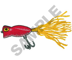 FISH HOOK embroidery design