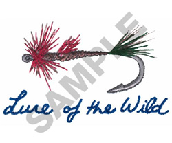 LURE OF THE WILD embroidery design