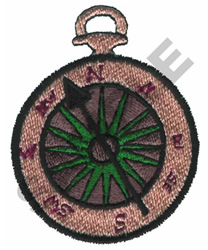 COMPASS embroidery design