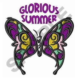 GLORIOUS SUMMER embroidery design