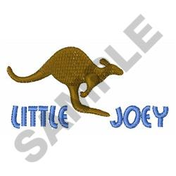 LITTLE JOEY embroidery design