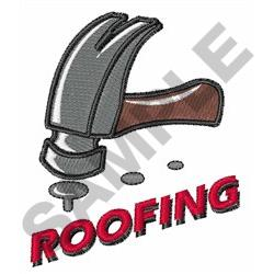 ROOFING embroidery design