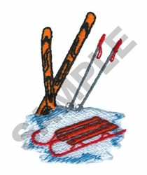WINTER TOYS embroidery design