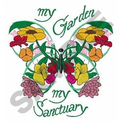 MY GARDEN SANCTUARY Embroidery Designs Machine Embroidery