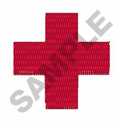 MEDICAL CROSS embroidery design
