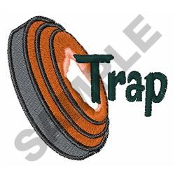 TRAP SHOOTING embroidery design