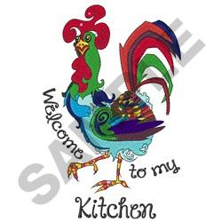 WELCOME TO MY KITCHEN Embroidery Designs, Machine ...