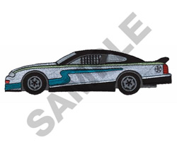 STOCK CAR embroidery design