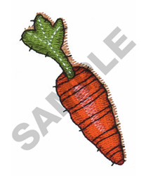 QUILTED CARROT embroidery design