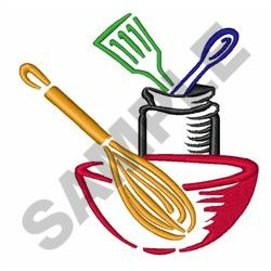 COOKING UTENSILS embroidery design