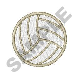 SMALL VOLLEYBALL embroidery design