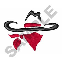 BANDIT OUTLAW embroidery design