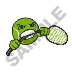 TENNIS FRUSTRATION embroidery design