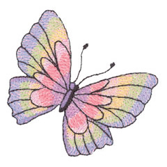 MYLAR BUTTERFLY embroidery design